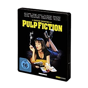 Pulp Fiction Steel Edition [Blu-ray] [Import allemand]