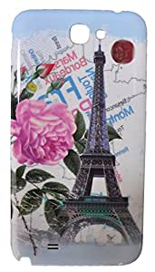 iCandy™ Hard Back Panel Replacement cover for Samsung Galaxy Note 2 N7100 - Paris