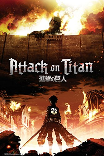 Attack on Titan Poster 24 x 36in (Aot Merchandise compare prices)
