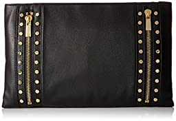 Vince Camuto Julle Clutch, Black, One Size