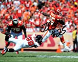 JAMAAL CHARLES SIGNED PHOTO 8X10 RP AUTO AUTOGRAPHED KANSAS CITY CHIEFS at Amazon.com
