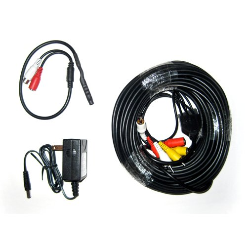 Microphone Kit With 100 Foot Cable And Power Supply For Sds-P5122, Sds-P5102, Sds-P5082, Sds-P4082, Sds-P4042, Sds-P3042