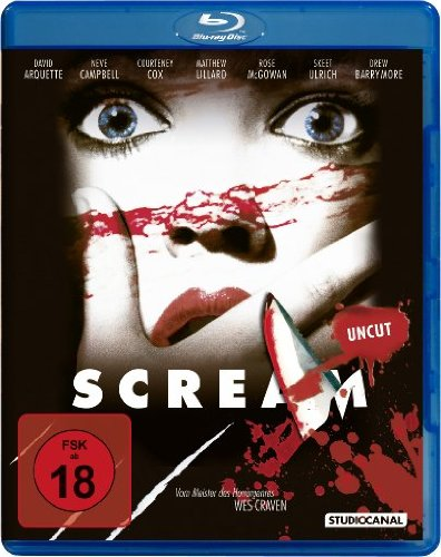 Scream 1 - Uncut [Blu-ray]