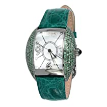 Effy Millennium Tsavorite 4.20 Tcw. Mother-of-Pearl Dial Ladies Watch #Z00Z102DV0