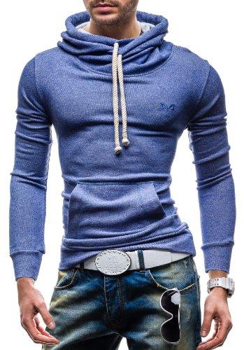 RONIDA 4642 Blau XXL [1A1] Kapuzenpullover Sweatshirt Hoodie Kapuze Pullover Picture