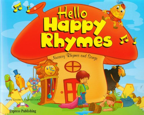 Hello Happy Rhymes Pupil's pack 2 (CD & DVD PAL)