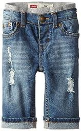 Levi\'s Baby Boys\' Murphy Pull On  Jean, Vintage Sky, 3-6 Months