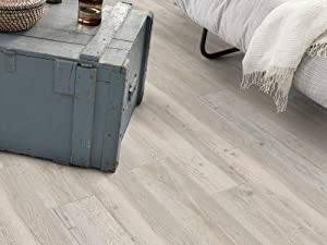 Gerflor senso nautic ceruse blanc vs vinyl laminate flooring adhesive floor t - Parquet blanc ceruse ...