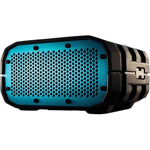 Incipio Technologies Braven Brv-1 Portable Wireless Speaker, Gray With White Relief And Turquoise Blue Grill (Brv1Gwc)