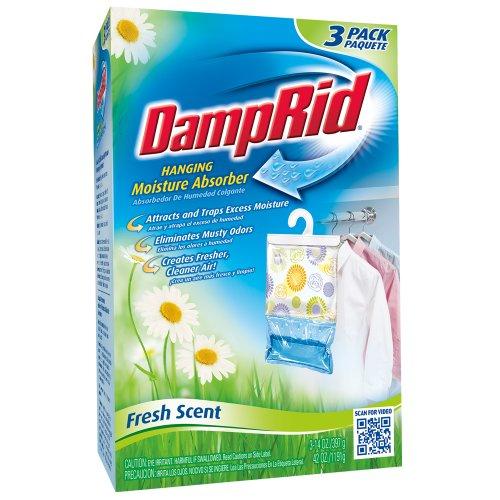 DampRid FG83K Hanging Moisture Absorber Fresh