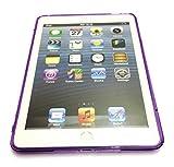 Cubierta de gel Atractivo Calidad S Line Wave Funda de silicona para Apple iPad 2 Aire / Ipad 6 (2014-15) PURPLE por G4GADGET®