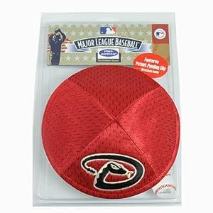 MLB Arizona Diamondback Clip Kippah Kippa Yamaka Jersey Mesh Licensed Yarmulke by Emblem Source