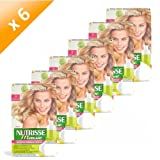Garnier Lot de 6 Colorations Nutrisse Mousse - 9 Blond Très Clair