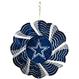Dallas Cowboys Geo Spinner Christmas Ornament