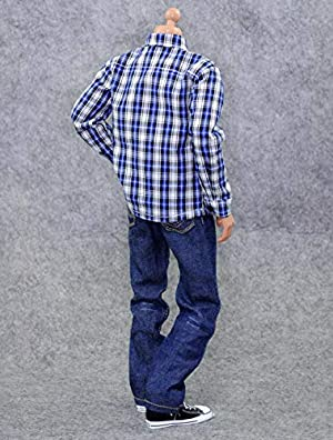 Pants Belt Outfit for 12 Male Action Figure Phicen,TBLeague CM003(E) Shirt HiPlay 1//6 Scale Male Figure Doll Clothes Handmade Full Suit
