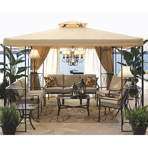 Jcp 2009 Outdoor Oasis Gazebo Replacement Canopy Gazebos