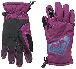 Roxy SNOW Junior's Popi Snow Gloves, Magenta Purple, Medium