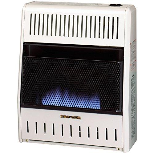 Procom ML200HBA Vent Free Liquid Propane Gas Blue Flame Space Heater - 20,000 BTU, Manual Control (Procom Gas Vent Free compare prices)