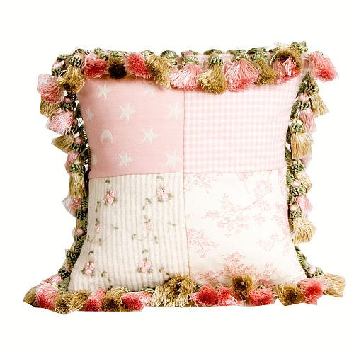 Glenna Jean Isabella Pillow, Patch/Tassels