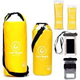 Winsen Dry Bag Sack Waterproof Compression,plus Phone Dry Bag,most Durable Bags with Adjustable Shoulder Strap,perfect Bag for Boating,kayaking,hiking,rafting,canoeing,snowboarding,camping Fishing