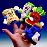 Rite Lite Typp Pup Pas Finger Puppets Set Of 4 Pack Of 6