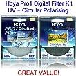 Hoya 58mm Pro1 Digital Circular Polarising & UV Filter Kit