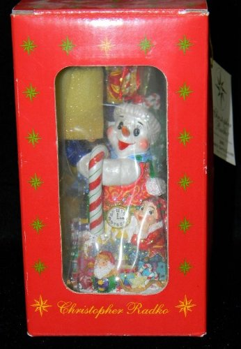 christopher-radko-2001-frosty-gifts-galore-ornament-1st-in-series-marshall-fields-exclusive