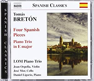 Four Spanish Pieces Piano Tri