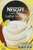 Nescafé Café Menu Vanilla Latte 18.5 g (Pack of 6, Total 48 Units)