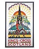 Kings Cross for scotland - London and North Eastern Railway Poster - Art Print - 60x80cm