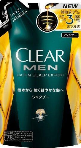 Clear For Men Shampoo Pomp 280g - Refill