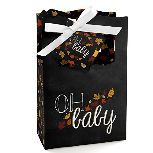 Oh Baby - Fall - Baby Shower Favor Boxes - 12 Count front-694609
