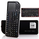 Deutsche Version Rii Mini 2.4G schnurlos Tastatur Maus-Touch...