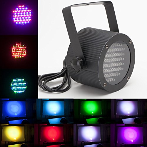 Gbb 86 Rgb Led Stage Light Par Dmx-512 Lighting Laser Projector Best Choice For Dj Disco Party Wedding Birthday Pub Show Dj Music Party. Xmas Sale! Best Price Of The Season,