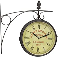 Kare 61860 Old London Station Wall Clock 41 x 9 x 41 cm Iron