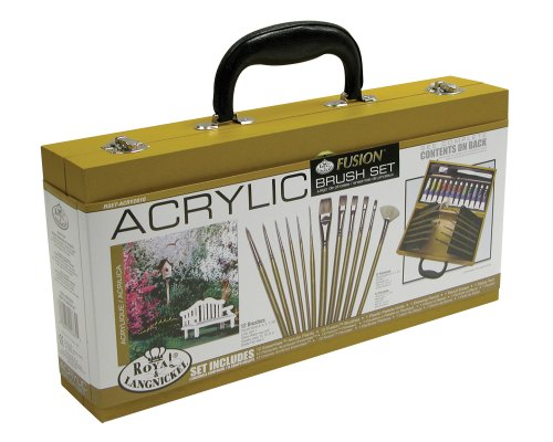 Royal & Langnickel Fusion Acrylic Painting Box Set