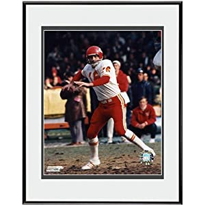 Photo File Kansa City Chiefs Len Dawson Prepare to Pass Framed Photo by Photo File