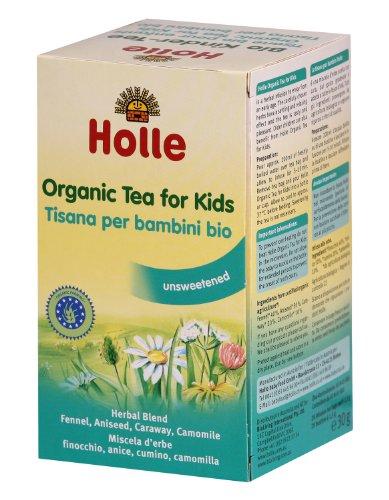 Holle Organic Baby Teas - Herbal Baby Tea - Single Box, 20 Tea Bags