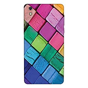 GripIt Colourful Ice Cream Cubes Case for LYF Water 1