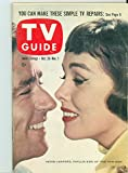 1957 TV Guide Oct 26 Peter Lawford and Phyllis Kirk of The Thin Man - Chicago Edition NO MAILING LABEL Near-Mint (7 out of 10) Very Lightly Used by Mickeys Pubs