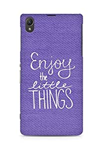 AMEZ enjoy the little things Back Cover For Sony Xperia Z1 C6902