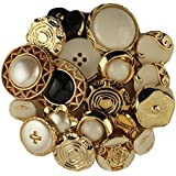 Gold & Silver Vintage Style Buttons