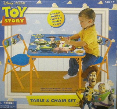 Disney Toy Story 3 Activity Table Set | Folding picnic table