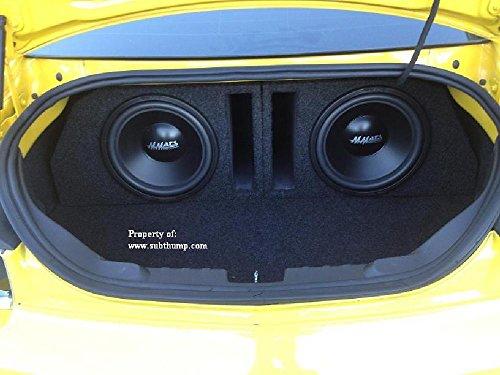 2010-2015 Camaro Coupe Dual 12 Ported Subwoofer Box (Camaro Box 12 compare prices)