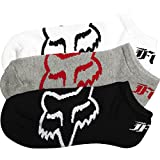 Fox Men's Core 3 Pack No Show Sock, Misc, Small/Medium
