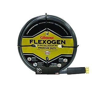 Gilmour 10 Series 8 Ply Flexogen Hose 1/2 inch x 50 Feet #10012050, Gray