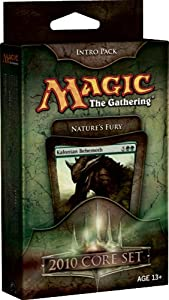 Magic CCG: 2010 Core Set Intro Pack - Nature's Fury (Green)