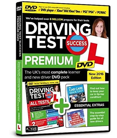 Driving Test Success Premium DVD New 2016 Edition