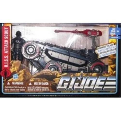 Gi Joe Alpha Vehicle 2011 Wave 1 Exclusive - HISS Attack Scout by Hasbro (English Manual)