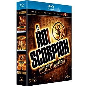 Le Roi Scorpion + Le Roi Scorpion - Guerrier de légende + Le Roi Scorpion 3 - L'Oeil des Dieux [Blu